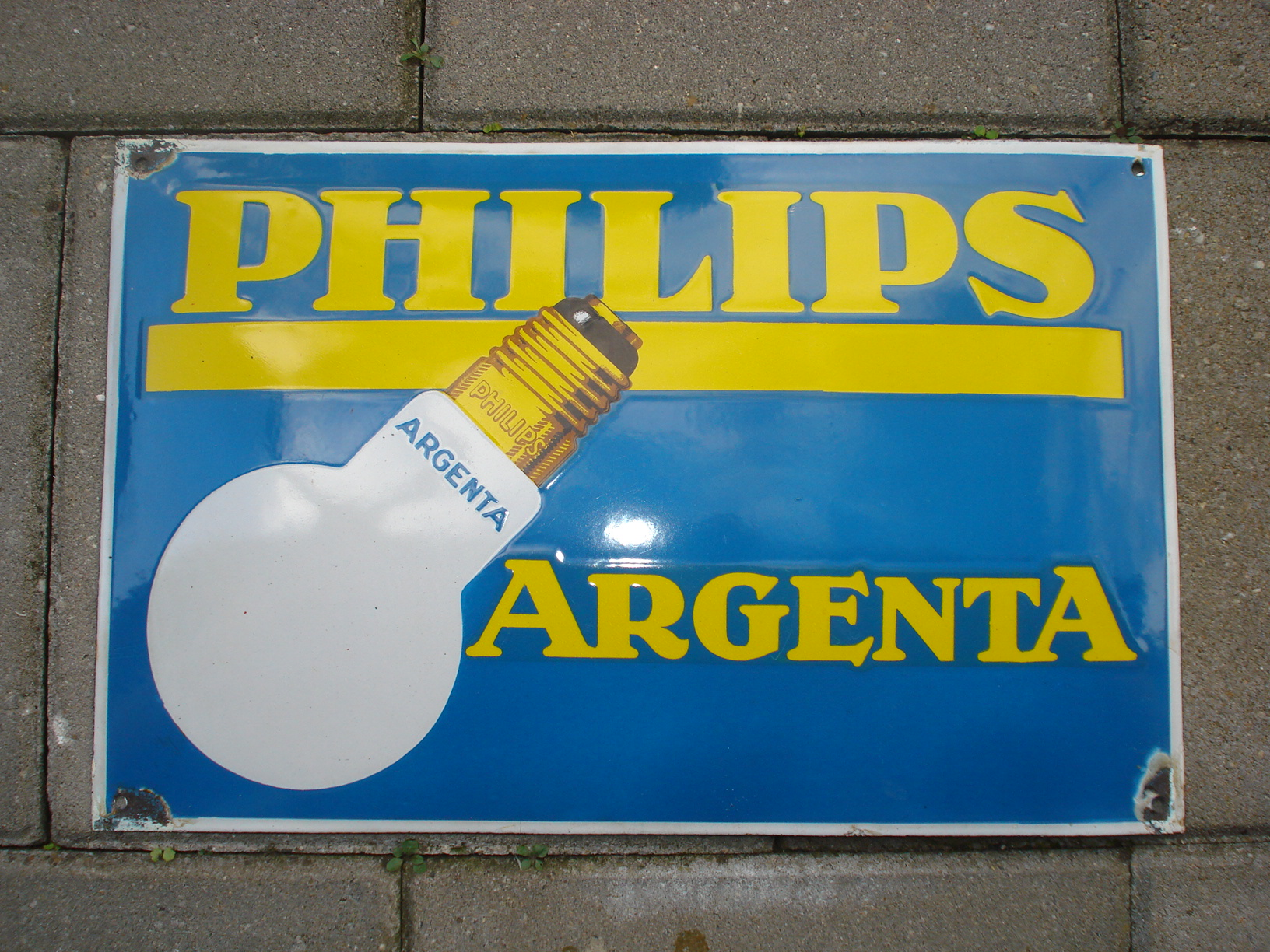 ,porcelain sign,emaill schild,reclamebord emaille bord philips argenta